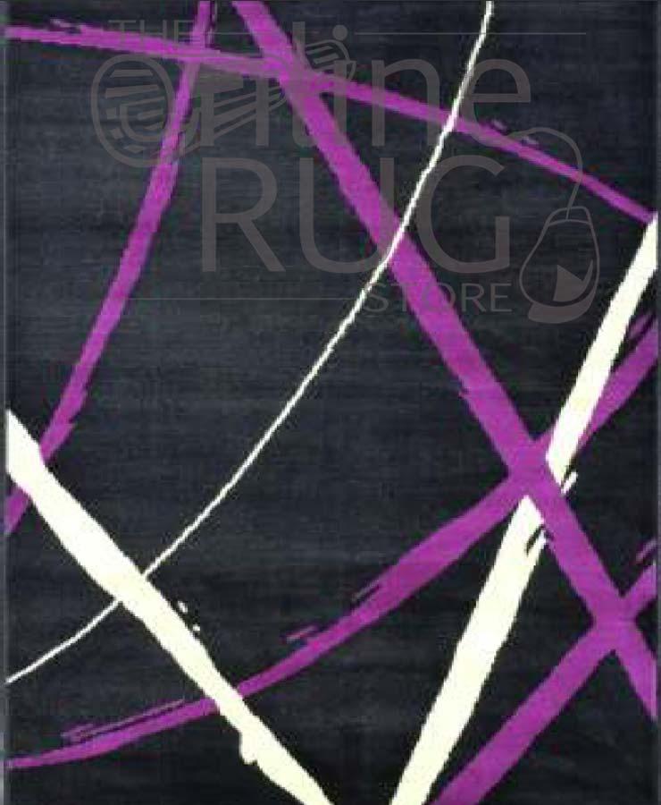 Art Black Purple