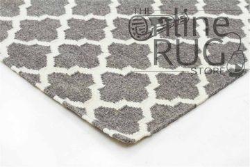 Grey Moroccan Wool Rug