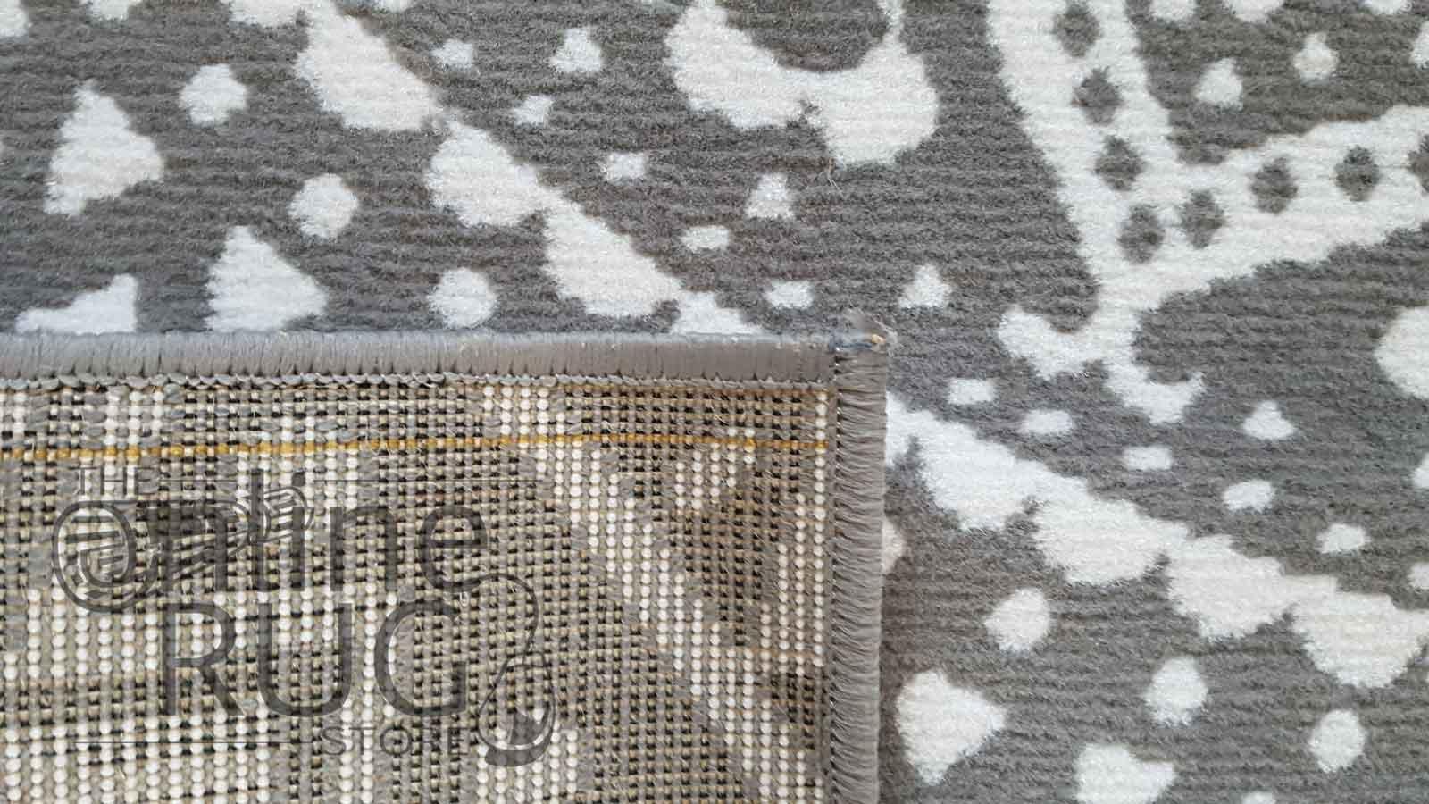 Industry Mandala Grey and Natural White