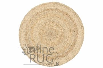 Polo Natural Jute Round