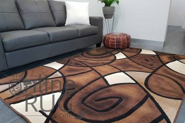 Style Chocolate Brown Abstract