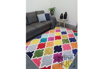Candy Crush Rainbow Moroccan Lattice