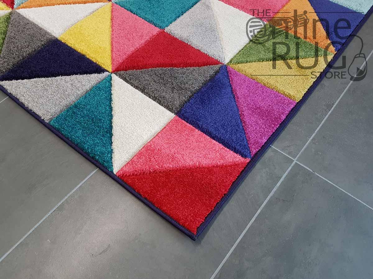 Candy Crush Rainbow Geometric