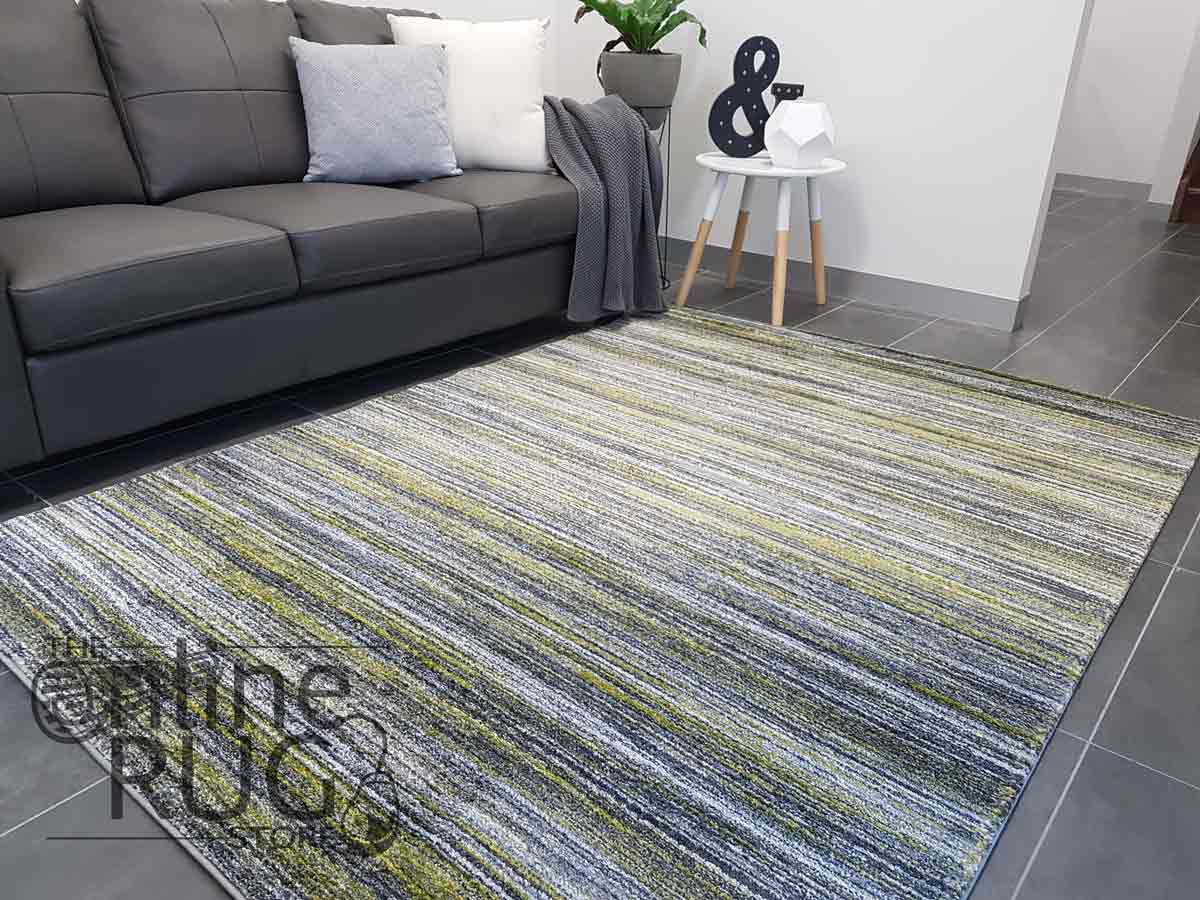 Space Lime Green Stripe Lines
