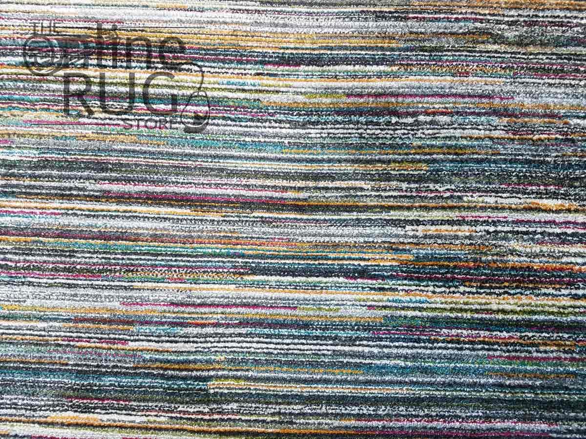 Space Grey Rainbow Stripe Lines