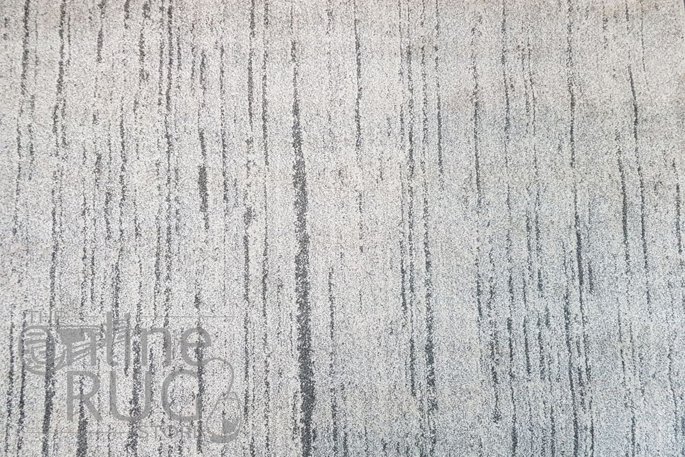 Aspire Grey Abstract Lines Rug