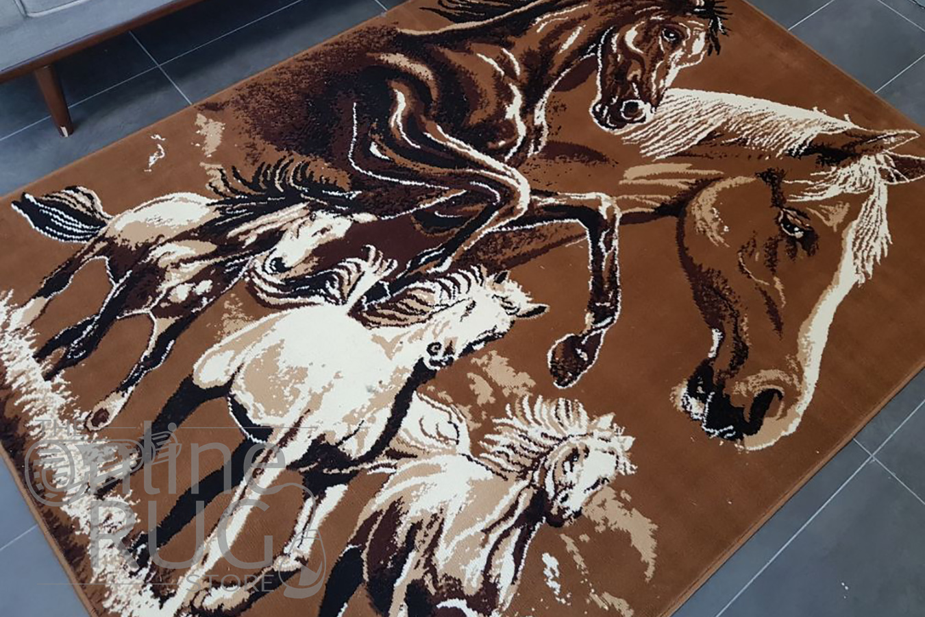 Five Horses Animal Print