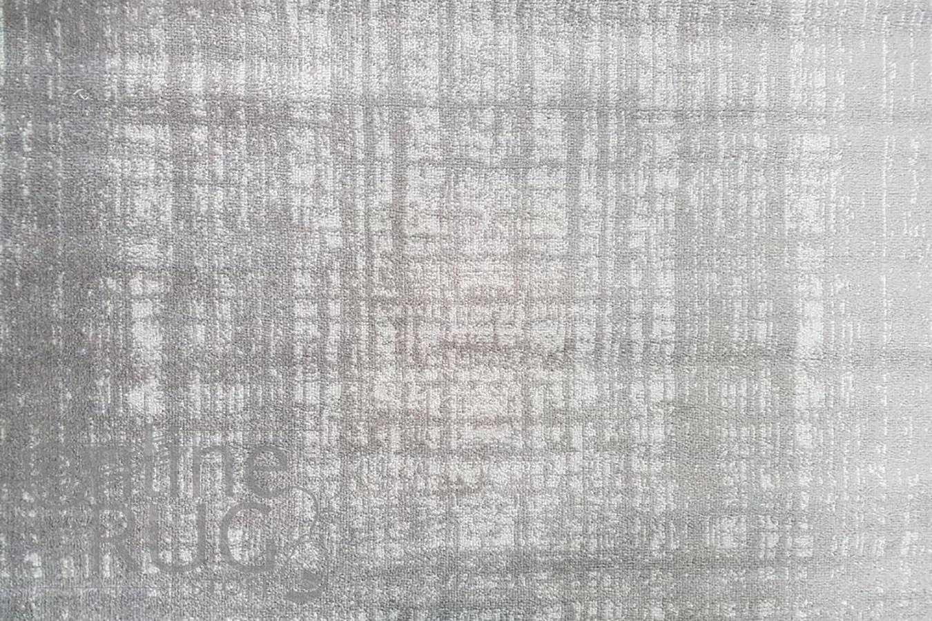 Freedom Light Grey Monochrome Stripe Lines Pattern Rug
