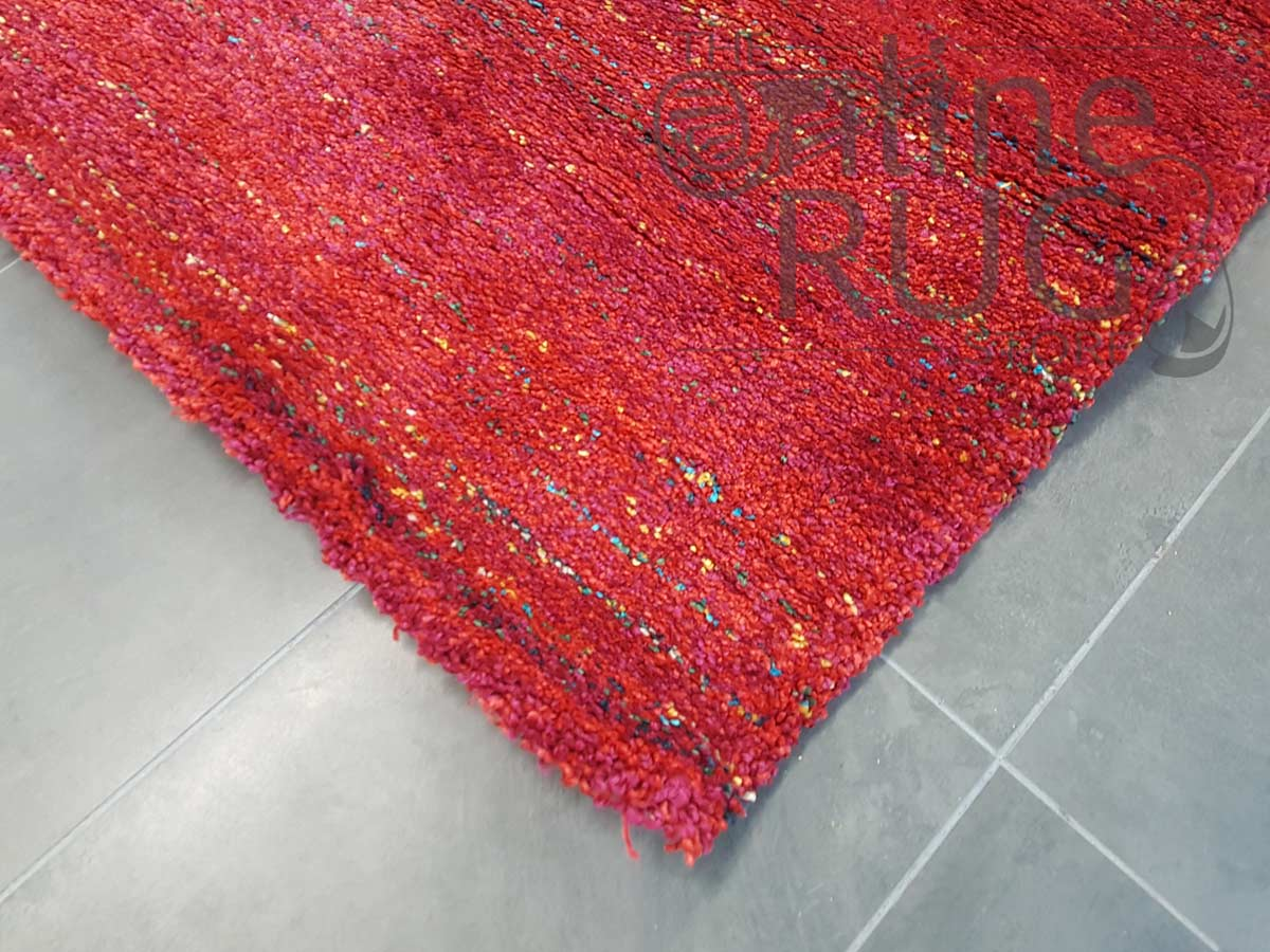 Hunter Plush Red Rug