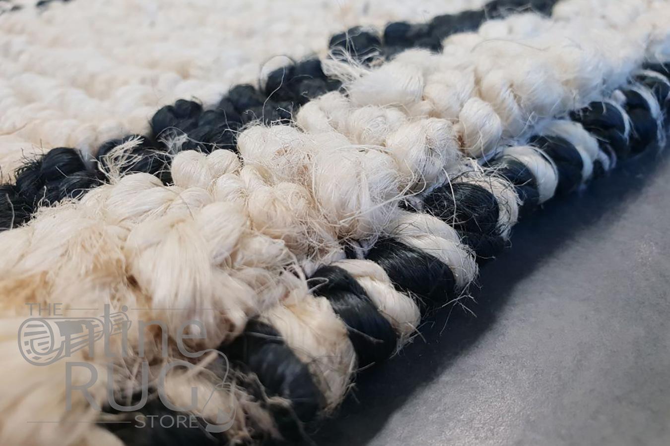 Serengeti Ivory Native Chunky Weave Jute Rug