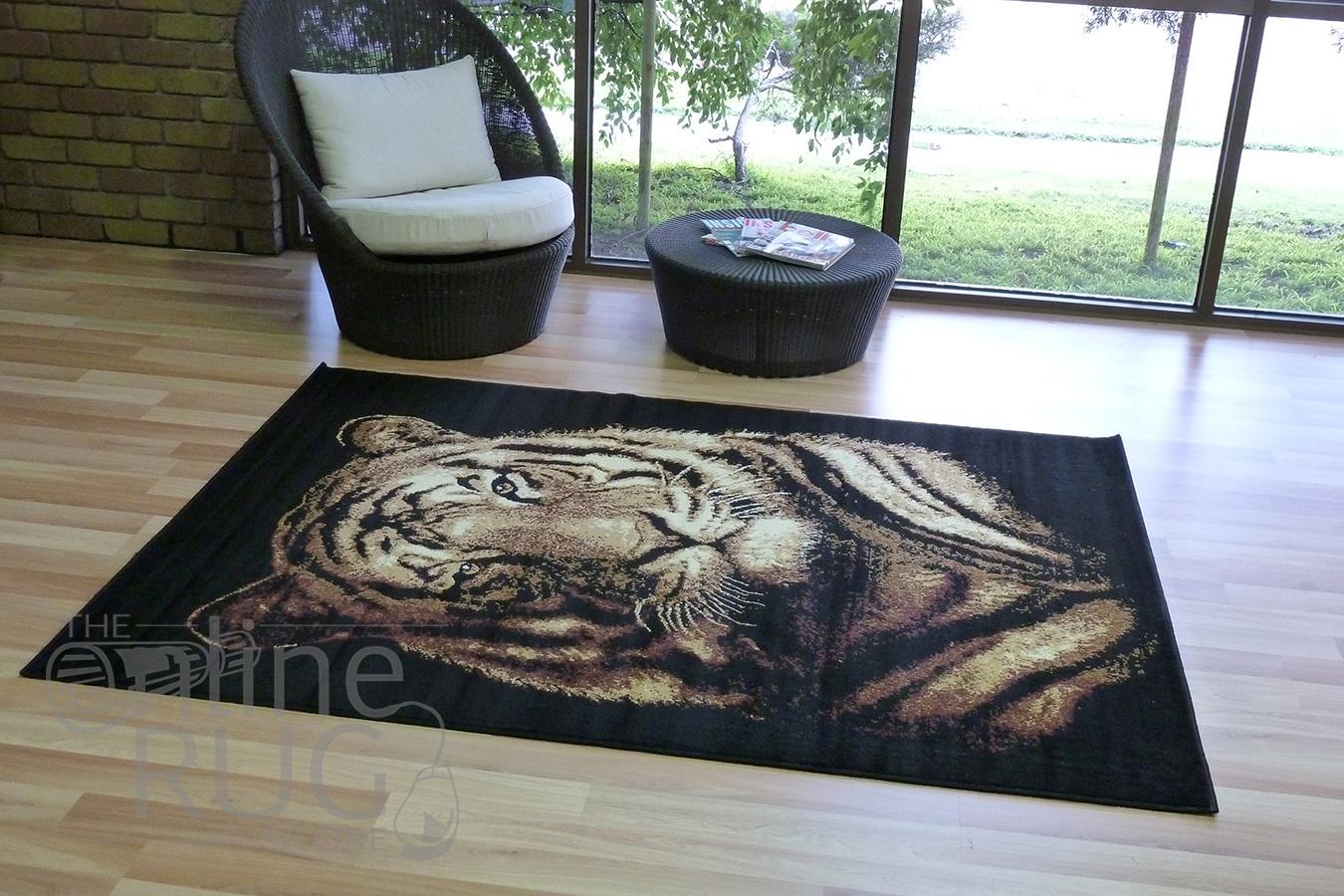 Tiger Head Animal Print