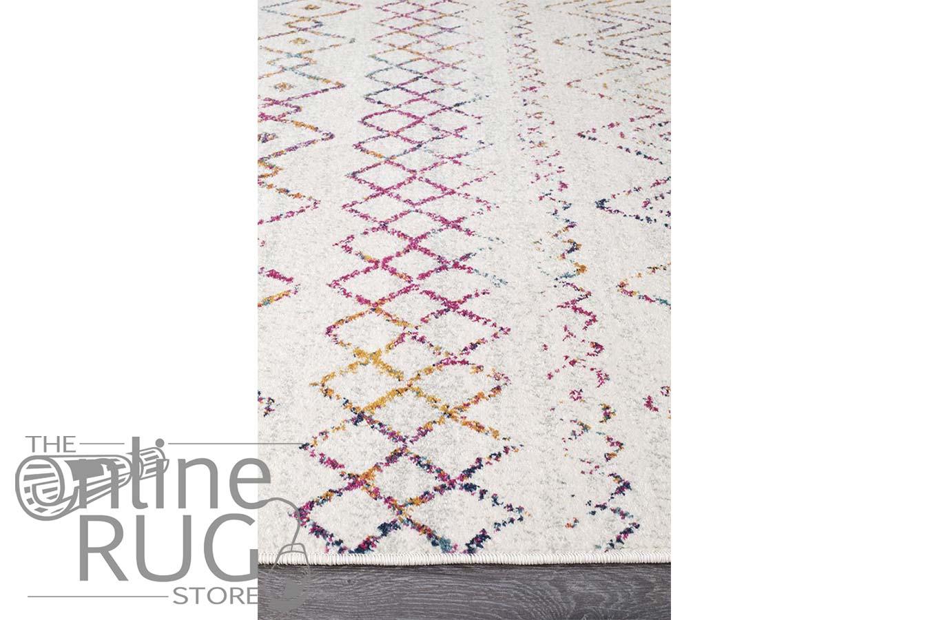 Heaven Multi Colour Tribal Pattern Rug