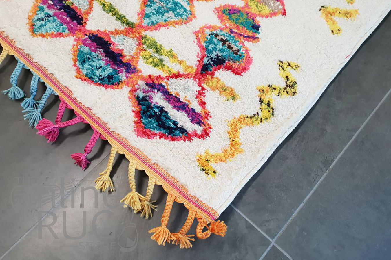 Karsha Multi Colour Tribal Boho Geometric Rug