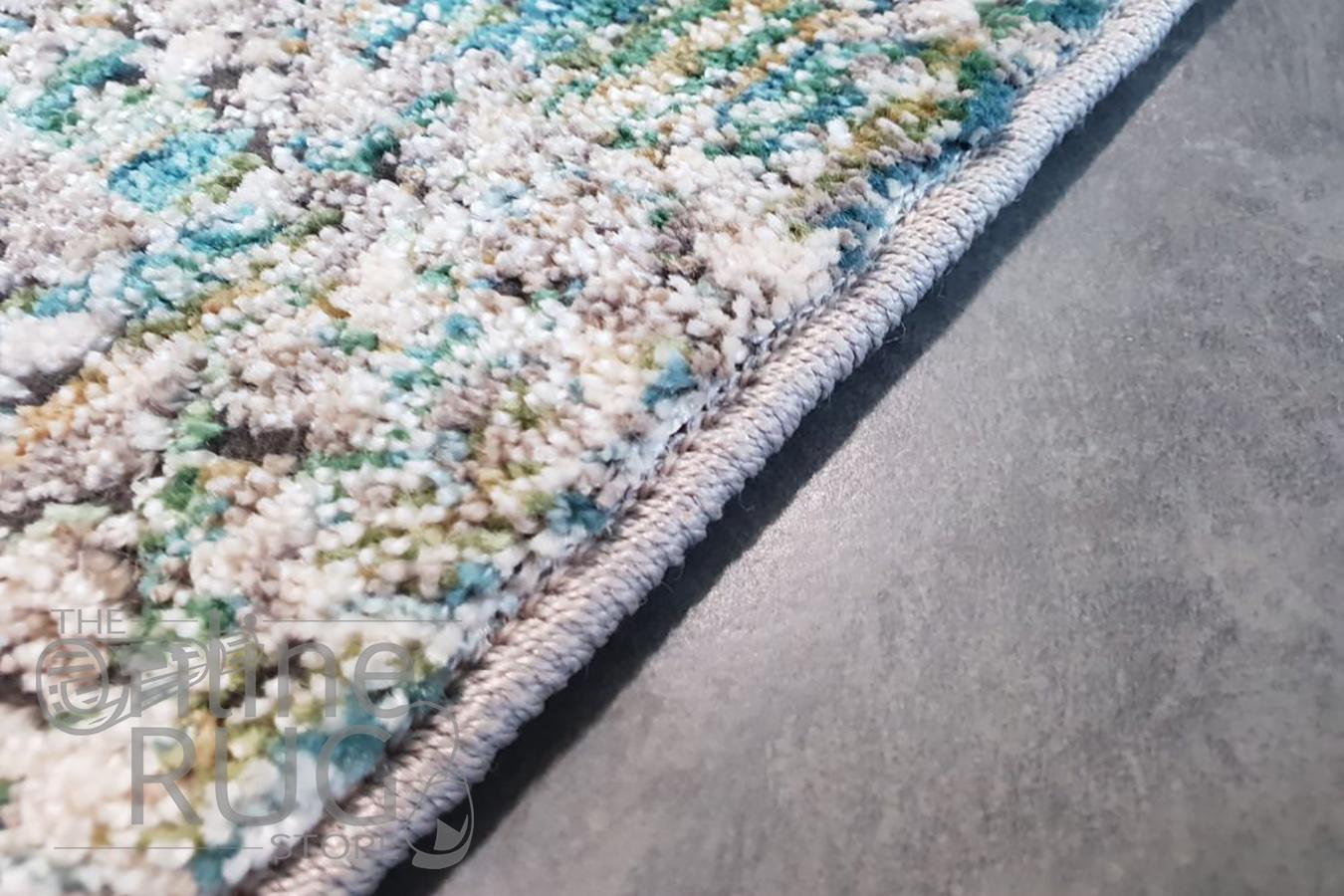 Bella Blue Distressed Vintage Rug