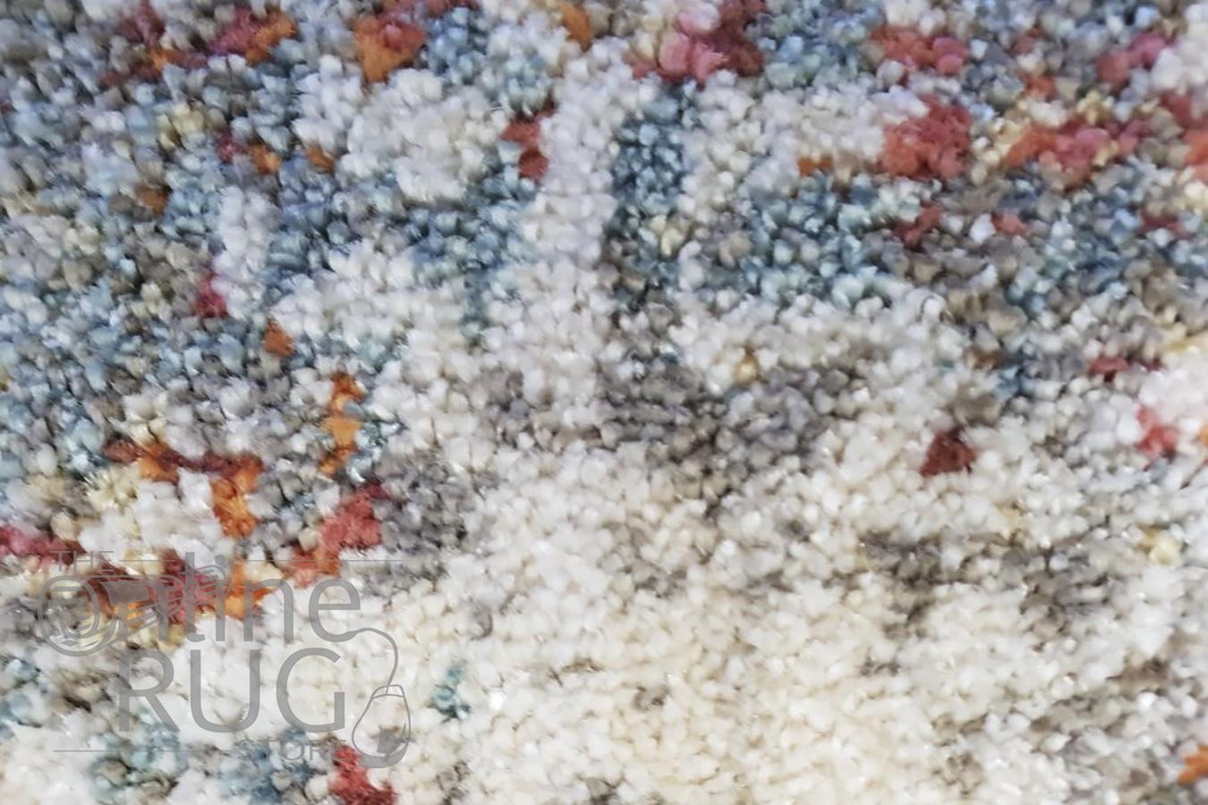 Bella Grey Distressed Vintage Rug