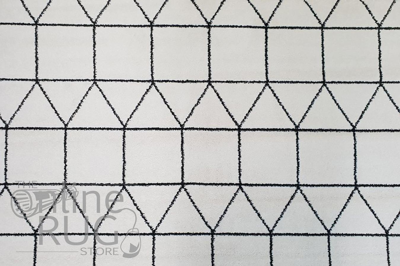 Sienna Ivory Geometric Rug