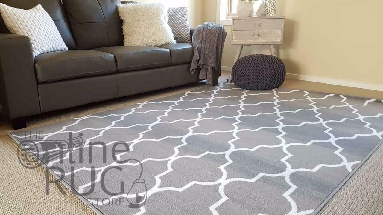 Industry Moroccan Lattice Natural Light Grey