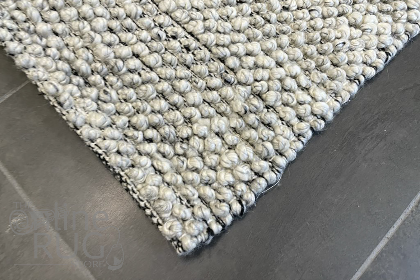 Avani Timeless Grey Loop Rug